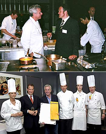 Chef Bouley and Thomas Stets ~ Star Chef David Bouley